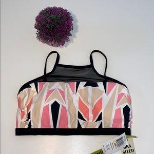 Gianni Bini Swimsuit Bikini Top Size 32DD New